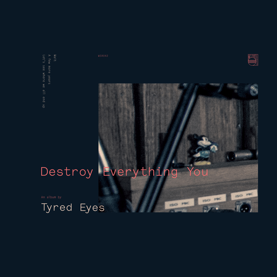 Destroy everything you cover art